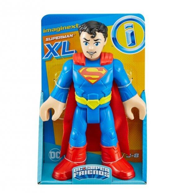 Boneco Super-man Grande Dc Super Friends Imaginext