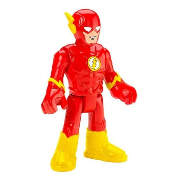 Boneco Flash Grande Dc Super Friends Imaginext