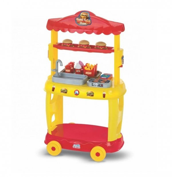 Food Truck Burguer - Magic Toys 8080