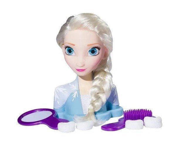 Boneca Frozen Elsa - Busto De Boneca Styling Head