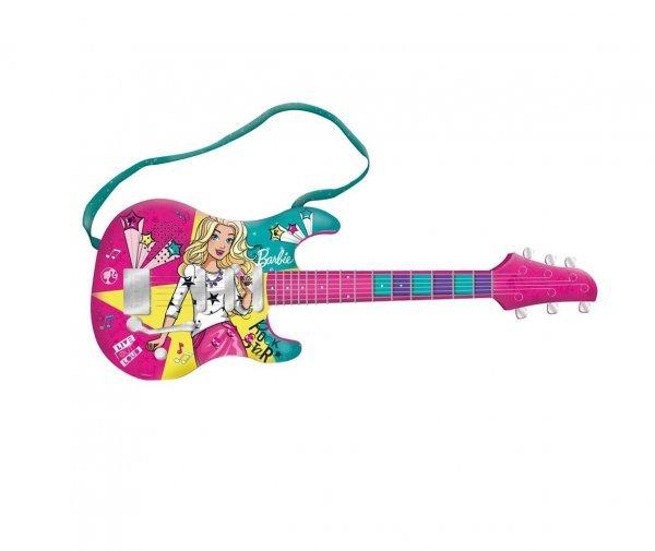 Guitarra Infantil Barbie Fabulosa - Com Função Mp3 Player