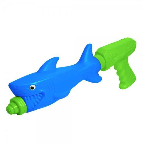 Lançador De Água Tubarão Dm Splash - Dm Toys