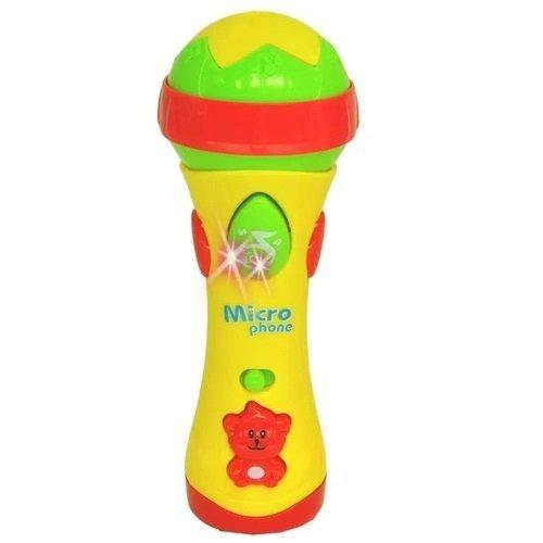Meu Primeiro Microfone Colorido - Dm Toys