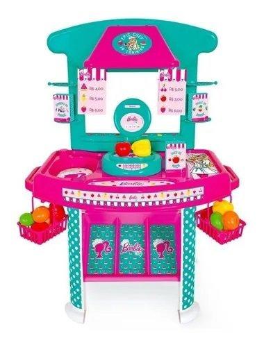 Barbie Cheff Mercadinho Com Acessórios - Cotiplás