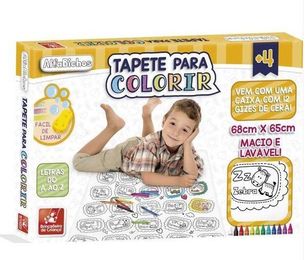 Tapete P/ Colorir Alfabichos - Brincadeira De Criança