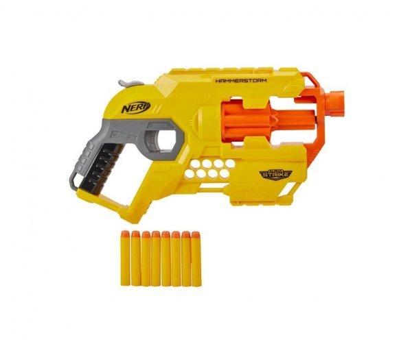 Lançador Nerf Alpha Strike Hammerstorm - Hasbro E8676