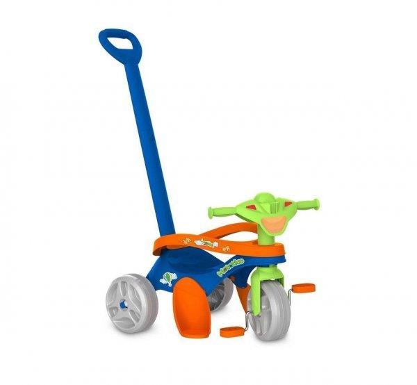 Triciclo Mototico Azul Passeio E Pedal - Bandeirante 692