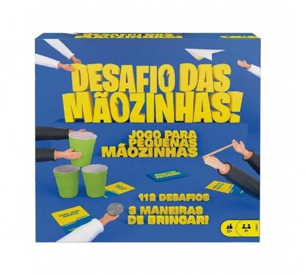 Jogo Desafio Das Mãozinhas - Mattel Gmj47