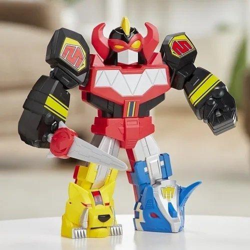 Boneco Megazord Power Rangers Mega Mighties - Hasbro