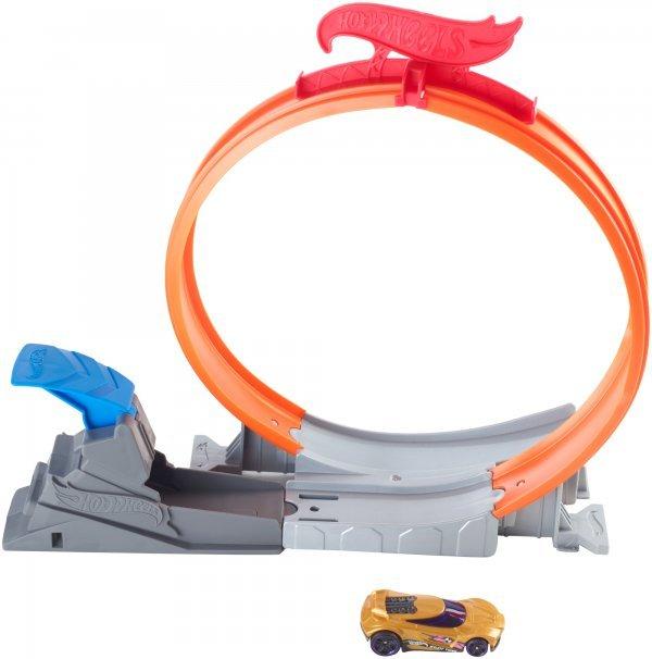 Hot Wheels Action Pista Set De Acrobacia Rei Do Looping