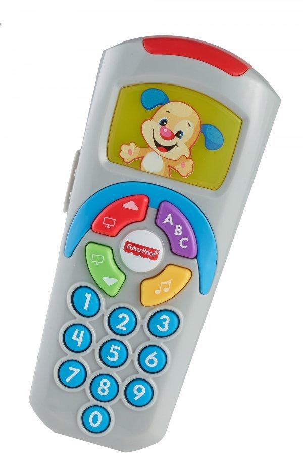 Controle Remoto Aprender E Brincar Fisher-Price Azul Mattel
