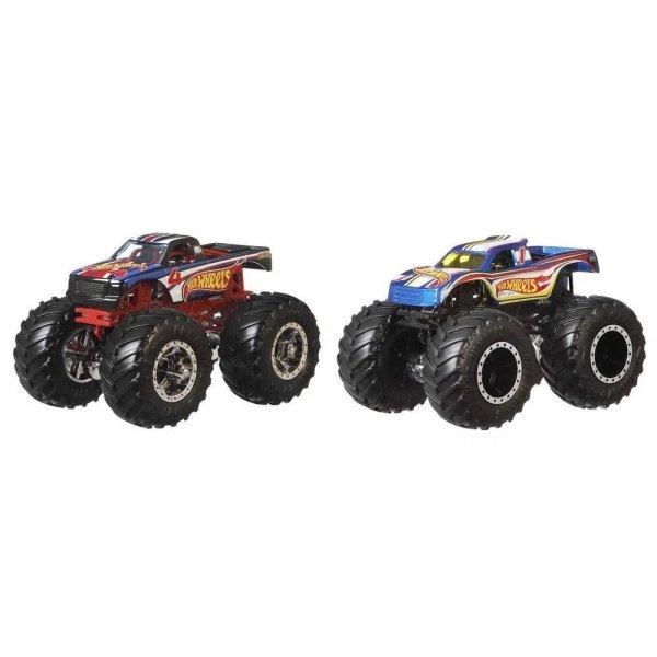 Hot Wheels Conjunto Monster Trucks Hotwheels 4 E Hotwheels 1 - Mattel Gtj50