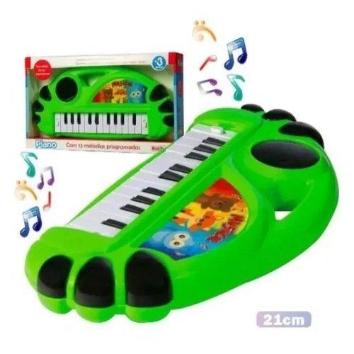 Piano Teclado Musical Com 13 Melodias - Rosita