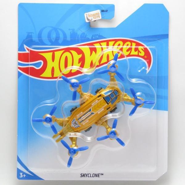Avião Skybusters Hot Wheels Helicóptero Skyclone - Mattel