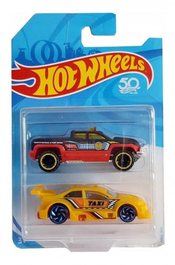 Kit 2 Carrinhos Básicos Sortidos Hot Wheels - Mattel
