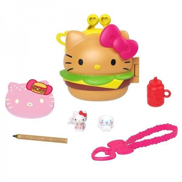 Hello Kitty Jantar Do Hambúrguer Mini Boneca Sanrio - Mattel