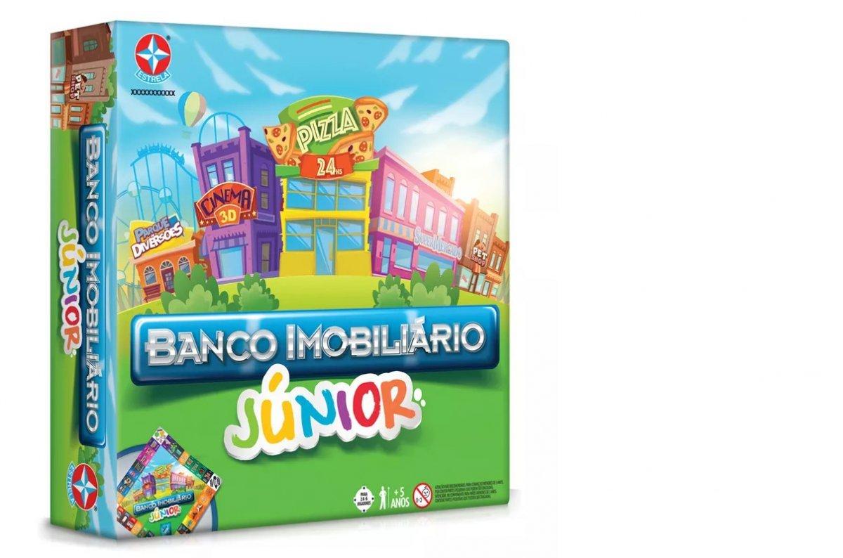 Jogo Banco Imobiliário Junior - Estrela 2800020