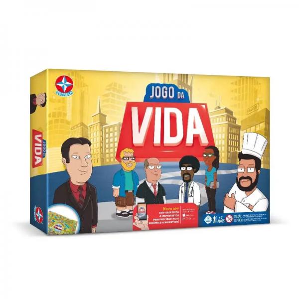 JOGO DA VIDA NOVO APP - ESTRELA REF: 2900041