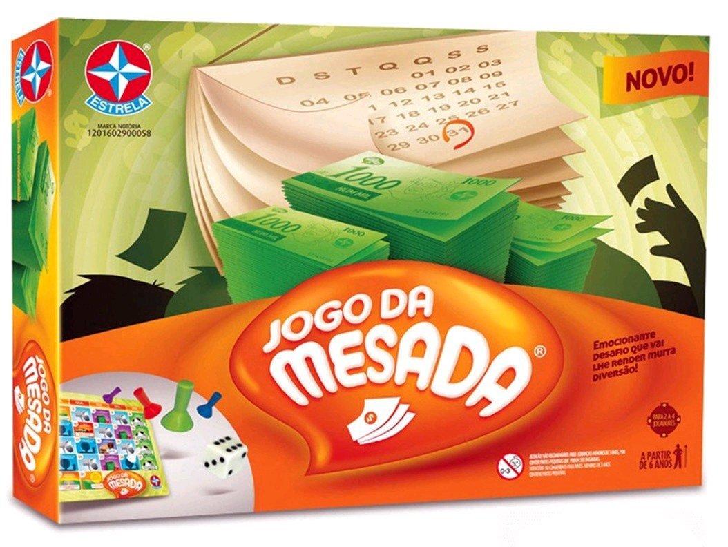 Jogo Da Mesada - Estrela Ref: 2900058