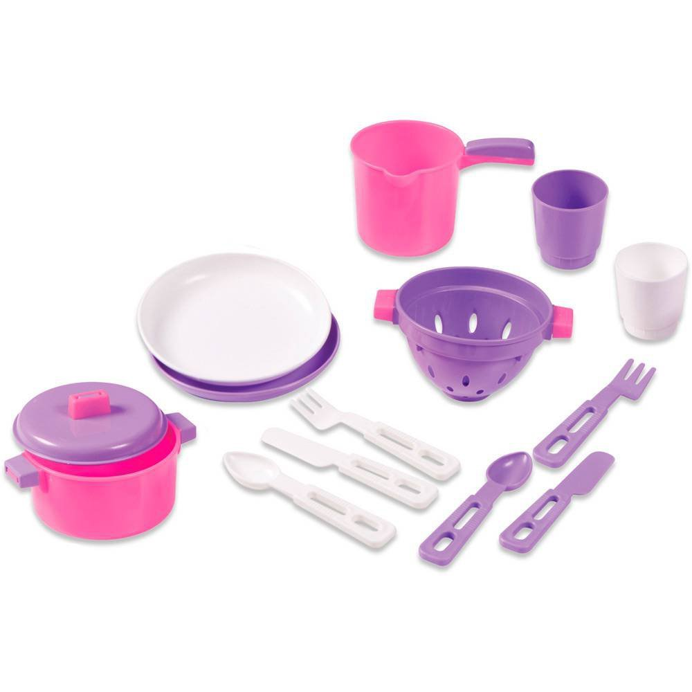 Kit De Cozinha Completo Rosa - Calesita 0331