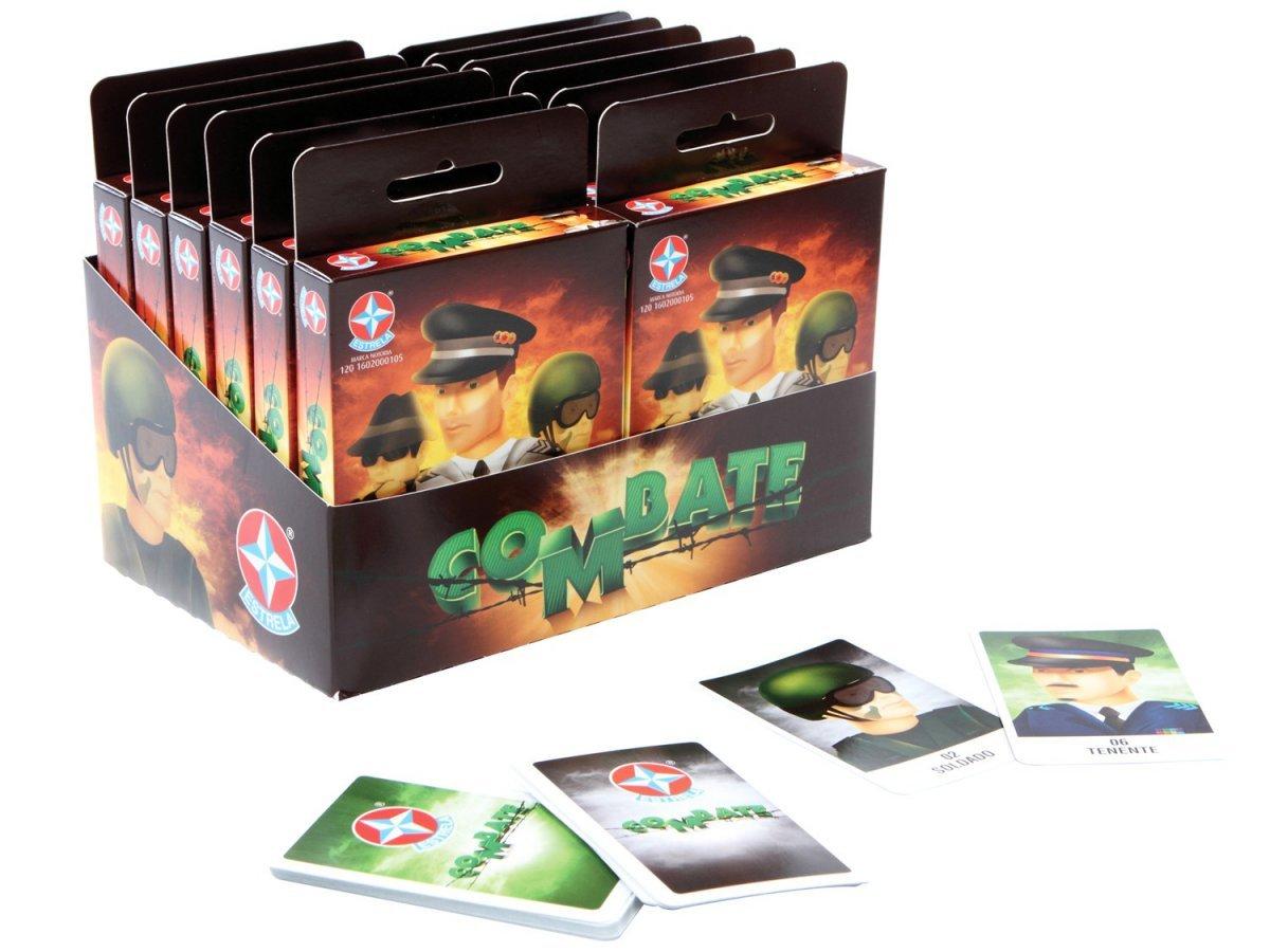 Jogo Combate Cartas - Estrela Ref: 162000105