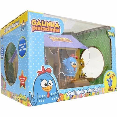Galinheiro Musical Galinha Pintadinha - Sunny Ref: 431