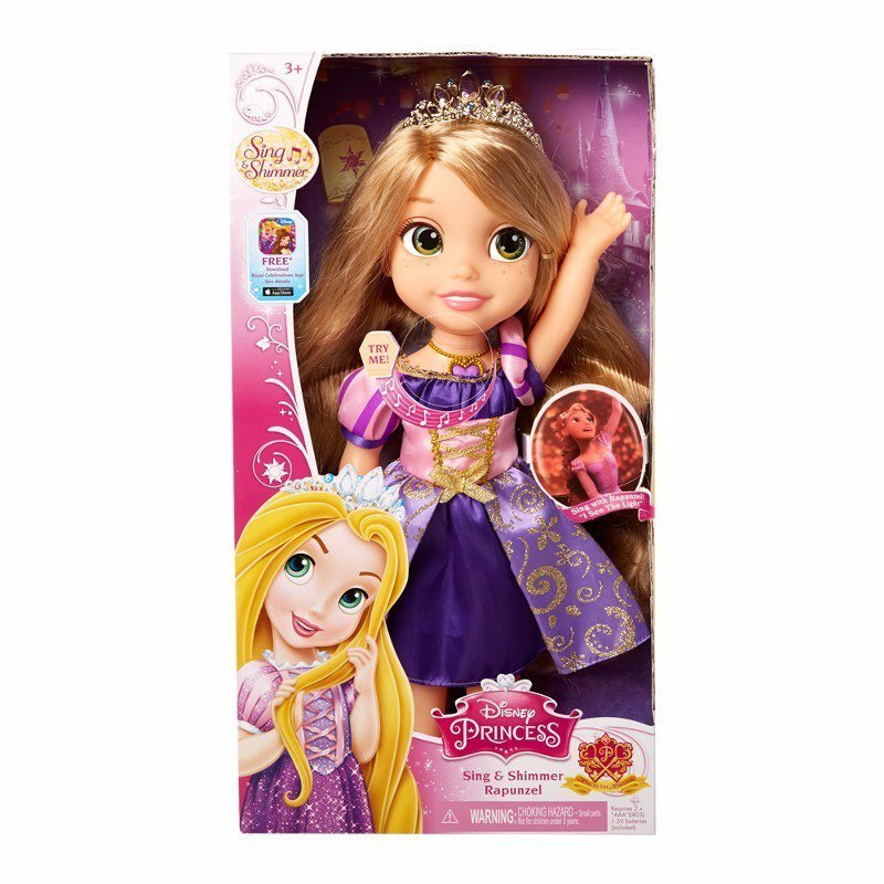 Boneca Rapunzel Cantora Disney Princesas - Sunny Ref:1240
