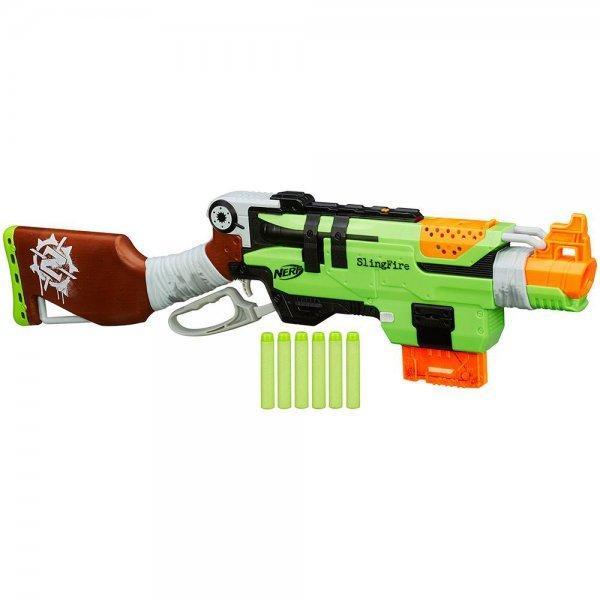 Lança Dardo Zombie Strike Nerf Slingfire - Hasbro A8773