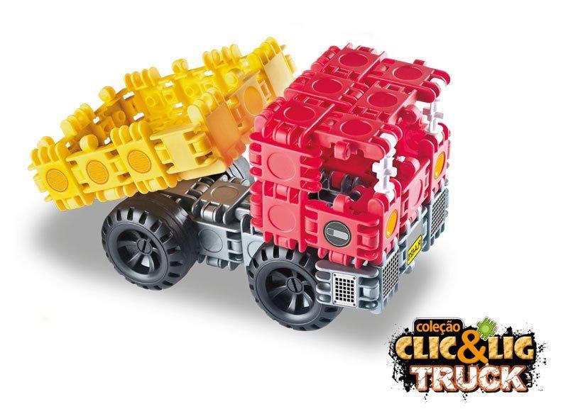 Clic&lig De Montar Truck - Plasbrink 105pc Ref:0716
