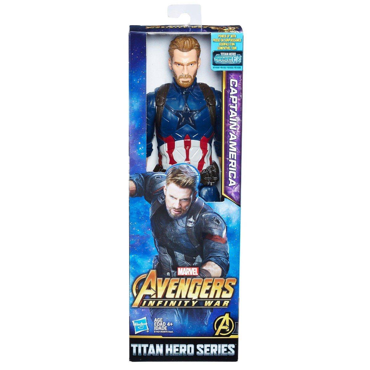 Boneco Capitão América Avengers Guerra Infinita 30 Cm - Hasbro Ref:e1421