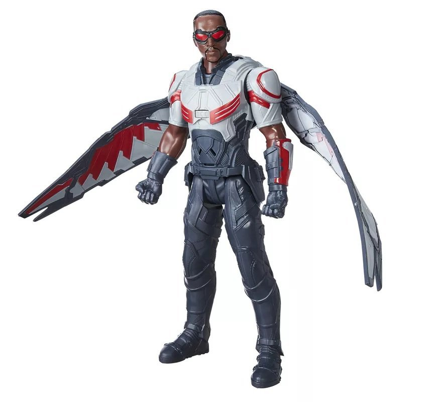 Boneco Falcon Eletrônico Marvel - Hasbro Ref:b6178