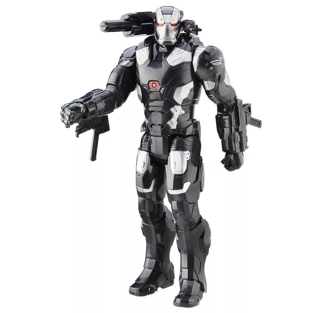 Boneco Maquina De Combate Eletrônico Marvel - Hasbro Ref:b6179