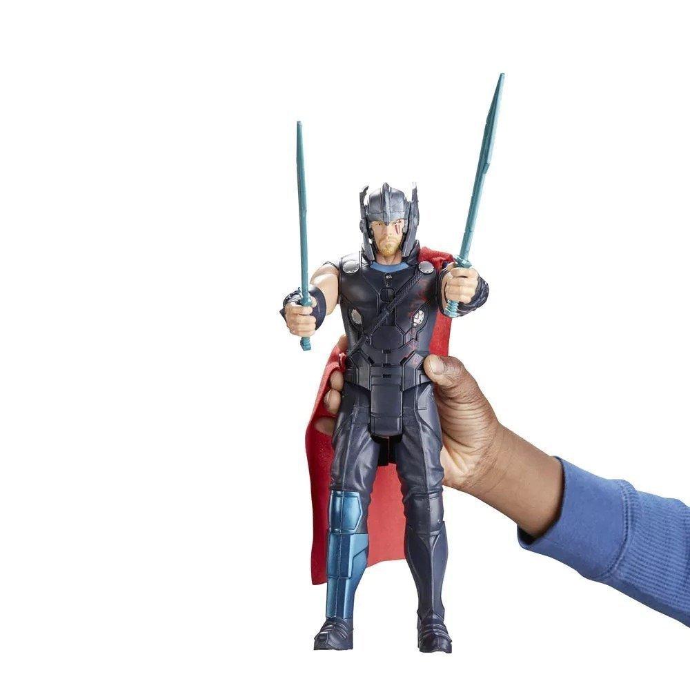 Boneco Thor Ragnarok Eletrônico - Hasbro Ref:b9970