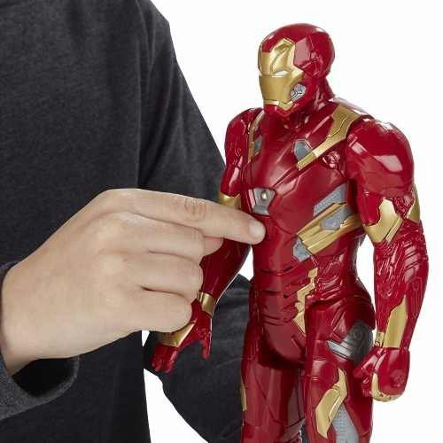 Boneco Iron Man Eletrônico Marvel - Hasbro Ref:b6177