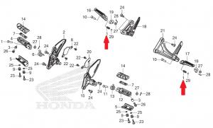 Mola Limitadora Pedaleira NC700/NC750