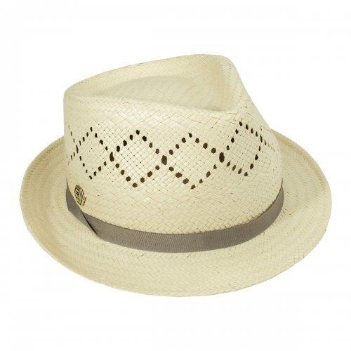 Chapéu Fedora Toyo Rendado Manly