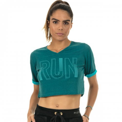 Blusa Cropped Duo Manly