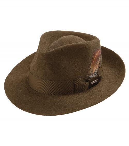 Chapéu Social Pelo de Lebre Stetson