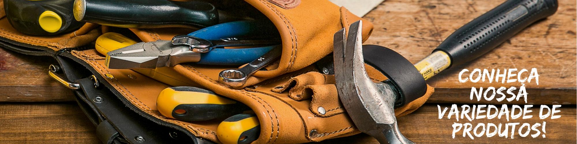 Variedade de ferramentas