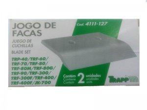 Jogo Facas Triturador TRF60/70/80/90/300/400/TRP40 JK700 TRAPP
