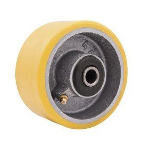 Roda de Poliuretano e Ferro Fundido 100 x 50 mm 4 Vonder