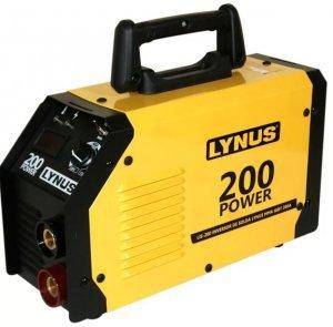 Máquina Inversora de Solda Bivolt com Display Digital MMA200-POWER LYNUS