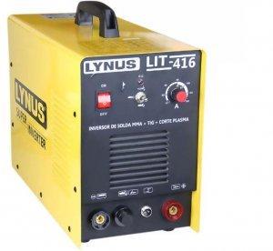 Inversor de Solda MMA + TIG e Corte Plasma LIT-416 LYNUS