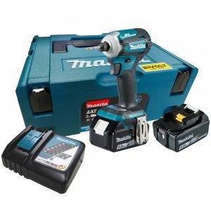 Chave de Impacto de 1/2 Pol Bateria 18V Bivolt DTW285RME Makita