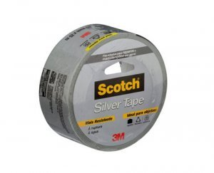 Fita Silver Tape Scotch 45mm x 25m prata 3M