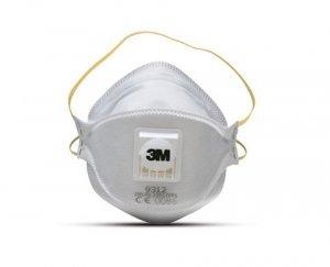 Máscara respiratória descartável aura 9312+BR PFF-1 3M