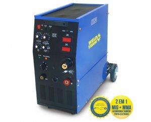 Máquina solda retificador/Mig Star 250MMA - 250A Weld Vision