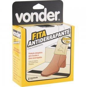 Fita antiderrapante 50mmx5m Preta Vonder