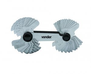 Calibrador para Rosca 52 Lâminas CR-052 Vonder