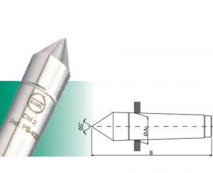 Ponta fixa comum sem metal duro cone morse nº 1 PS-401